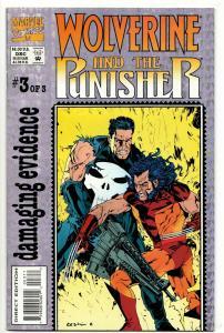 Wolverine Punisher Damaging Evidence #3 (Marvel, 1993) FN