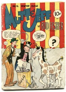 Mutt and Jeff #12 1943- BUD FISHER- Golden Age G-