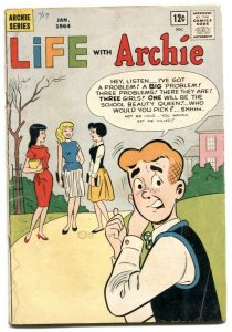 Life With Archie #25 1964-Betty & Veronica- VG