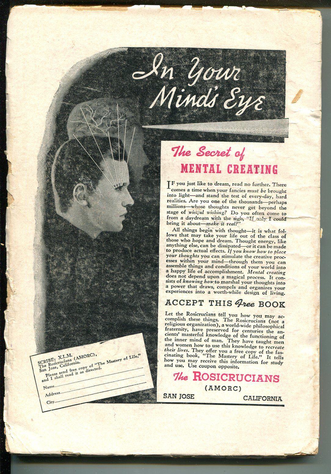 FANTASTIC ADVENTURES 1/1951-ZIFF-DAVIS-PULP SCI-FI-CLIFFORD