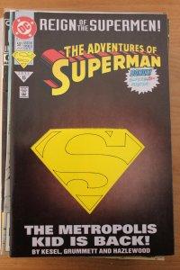 Adventures of Superman 501 Die Cut  9-4-nm