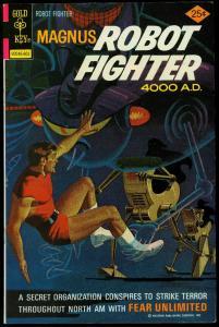 Magnus Robot Fighter #42 1976- Gold Key Sci-fi comic VF