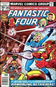 Marvel FANTASTIC FOUR (1961 Series) #195 FN