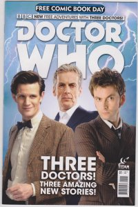 Doctor Who Free Comic Book Day 2015