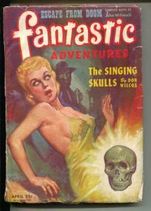 Fantastic Adventures-Pulp-4/1945-John Wilstach-Don Wilcox