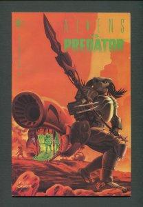 Aliens vs Predator #1  / 8.5 VFN - 9.0 VFN/NM / June 1990