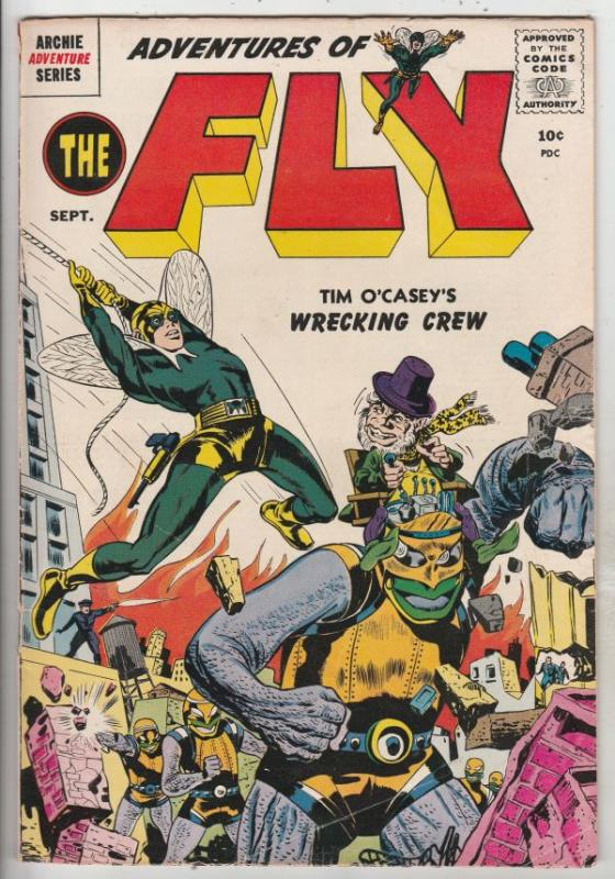 Adventures of the Fly #2 (Sep-59) VG/FN+ Mid-Grade The Fly