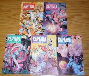 Kaptara #1-5 VF/NM complete series - chip zdarsky - kagan mcleod set 2 3 4 lot