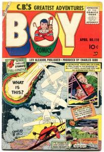 BOY COMICS #110 1955-CHARLES BIRO-JOE KUBERT ART--CODE VG/F