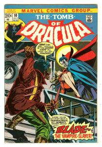 Tomb Of Dracula 10   1st Blade The Vampire Slayer