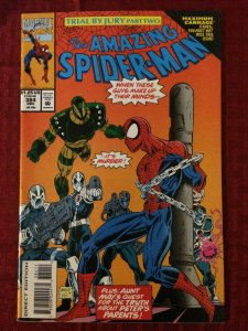 Amazing Spider-Man #384 VF+ 1993 Marvel Comics Trial by Jury #2