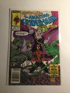 Amazing Spider-Man 319 newsstand edition near mint- nm- 9.2  Marvel