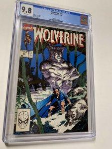 Wolverine 25 Cgc 9.8 White Pages Marvel Jim Lee X-men 015