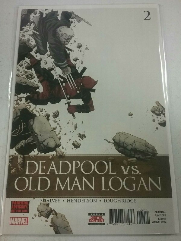 DEADPOOL VS OLD MAN LOGAN #2 (OF 5) (MARVEL 2017) NW143