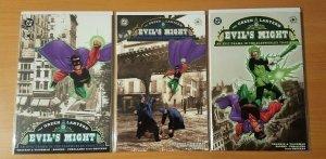 Green Lantern Evil's Might 1-3 Complete Set Run! ~ NEAR MINT NM ~ 2002 DC Comics