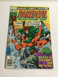Daredevil 153 Nm Near Mint Marvel