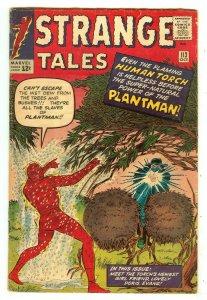Strange Tales 113   Origin & 1st Plantman
