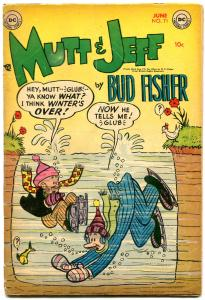 Mutt and Jeff #71 1954- Bud Fisher- DC Golden Age Humor VG