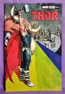 ComicTom101 Donny Cates THOR #7 Das Pastoras Variant Cover (Marvel, 2020)!