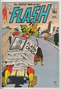 Flash, The #199 (Aug-70) VF/NM+ High-Grade Flash