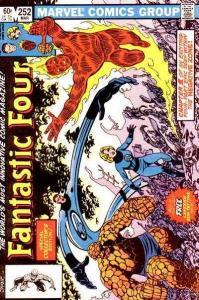 Fantastic Four (1961 series) #252, VF+ (Stock photo)