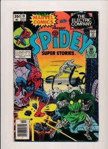 Marvel Comics SPIDEY Super Stories #19 GOOD/VERY GOOD (HX902)