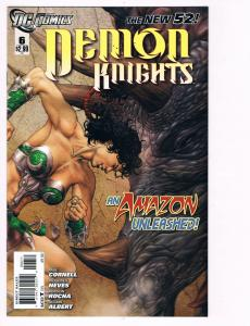 Demon Knights # 6 DC Comic Books Hi-Res Scans The New 52 Great Issue WOW!!!! S12