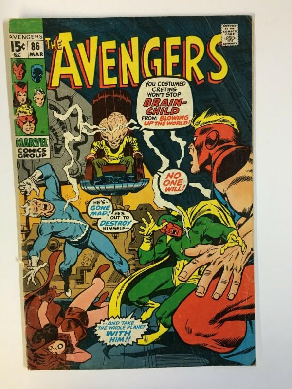 AVENGERS 86 VG March 1971