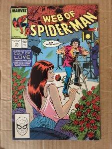 Web of Spider-Man #42 (1988)
