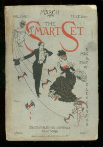 SMART SET #1 MARCH 1900-RARE PULP-CUPID COVER G
