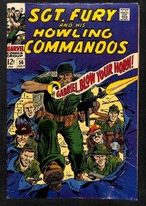 Sgt. Fury #56 (1968)