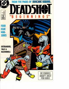 Lot Of 2 DC Comic Book Deadshot #1 and Doom Patrol #1 KS11