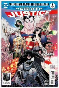 Justice League Essentials Rebirth #1 (DC, 2017) VF/NM
