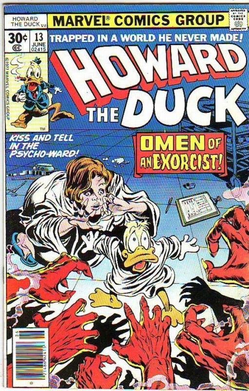 Howard the Duck #13 (Jun-77) VG/FN+ Mid-Grade Howard the Duck