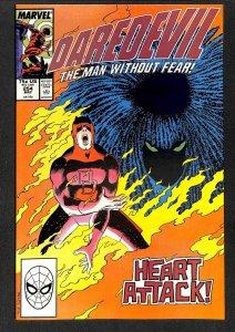 Daredevil #254 NM 9.4 1st Typhoid May! Marvel Comics