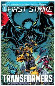 Transformers First Strike #1 Cvr B (IDW, 2017) VF