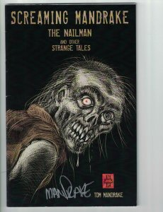 Screaming Mandrake: The Nailman and Other Strange Tales - signed by Mandrake