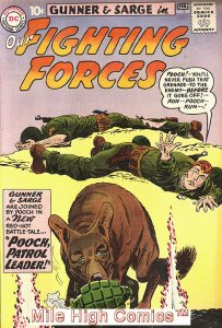 OUR FIGHTING FORCES (1954 Series) #59 Fine Comics Book