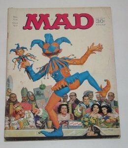 Mad Magazine #114 Norman Mingo Cover October 1967 EC Publications VG