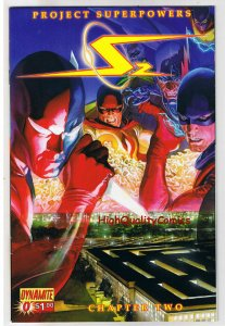 PROJECT SUPERPOWERS  #0 Volume 2, NM+, ALex Ross, 2008, more in store