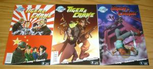 Tiger & Crane #1-3 VF/NM complete series - bluewater comics - martial arts set 2