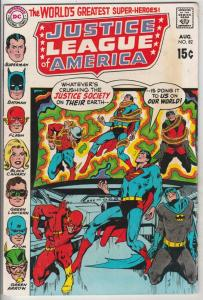 Justice League of America #82 (Aug-70) FN/VF Mid-High-Grade Justice League of...
