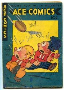 Ace Comics #92 1944- Phantom- Jungle Jim restored G