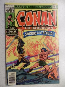 CONAN THE BARBARIAN # 85 MARVEL SAVAGE SWORD FANTASY