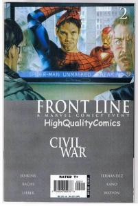 CIVIL WAR : FRONT LINE #2, NM-, Spider-man Unmasked, 2006, more in store