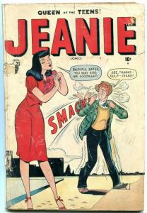Jeanie #23 1949- Queen of Teens- Marvel Golden Age- Willie reading copy