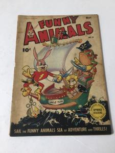 Funny Animals 18 4.0 Vg Very Good Fawcett Publications GA