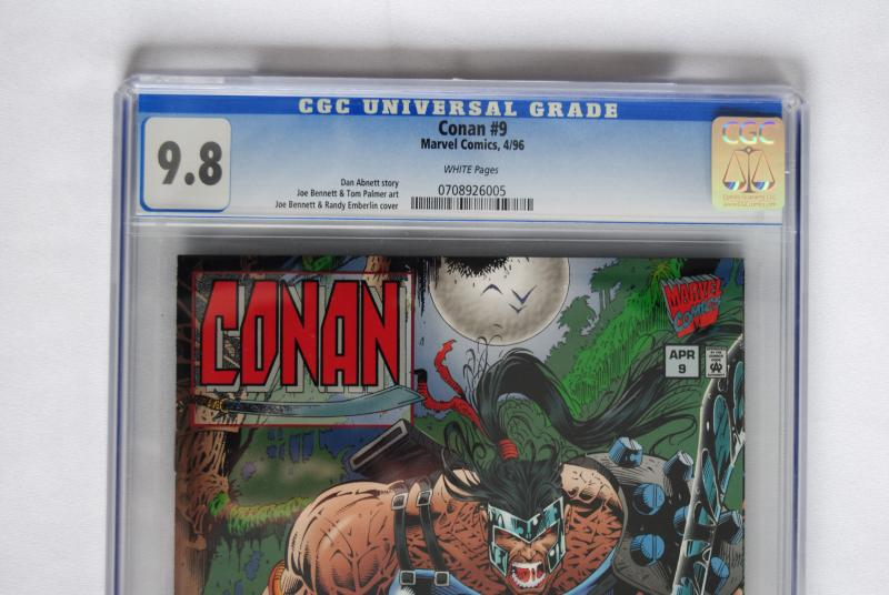 Conan #9 9.8 Low Print Run