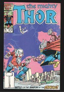 THOR 372 NM 9.6-9.8;UNREAD,UNTOUCHED-1ST APPEARANCE TIME VARIANCE AUTHORITY!