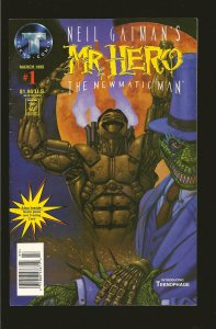 Tekno Comix Neil Gaimans Mr. Hero the Newmatic Man #1 (1995)